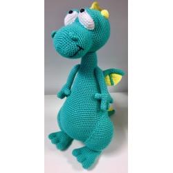 Dragón turquesa