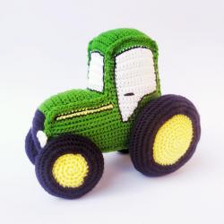Patrón tractor John Deere