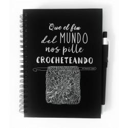 """Cuaderno """"Que el fin del..."""